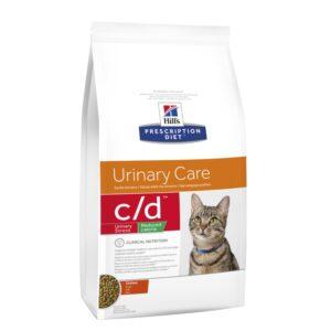 Hill's c/d Urinary Stress Reduced Calorie kuivaruoka kissalle